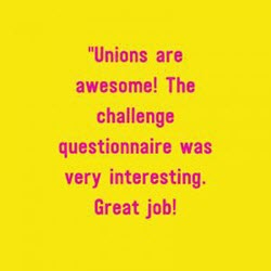 Quote - Unions are awesome!