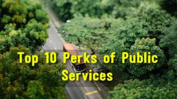 Top 10 Perks of Public Services