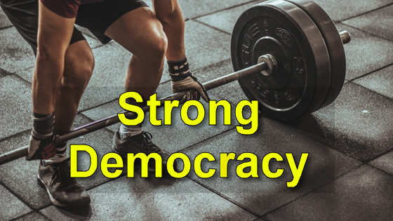 Strong unions help democracy. Photo by Victor Freitas at unsplash.com